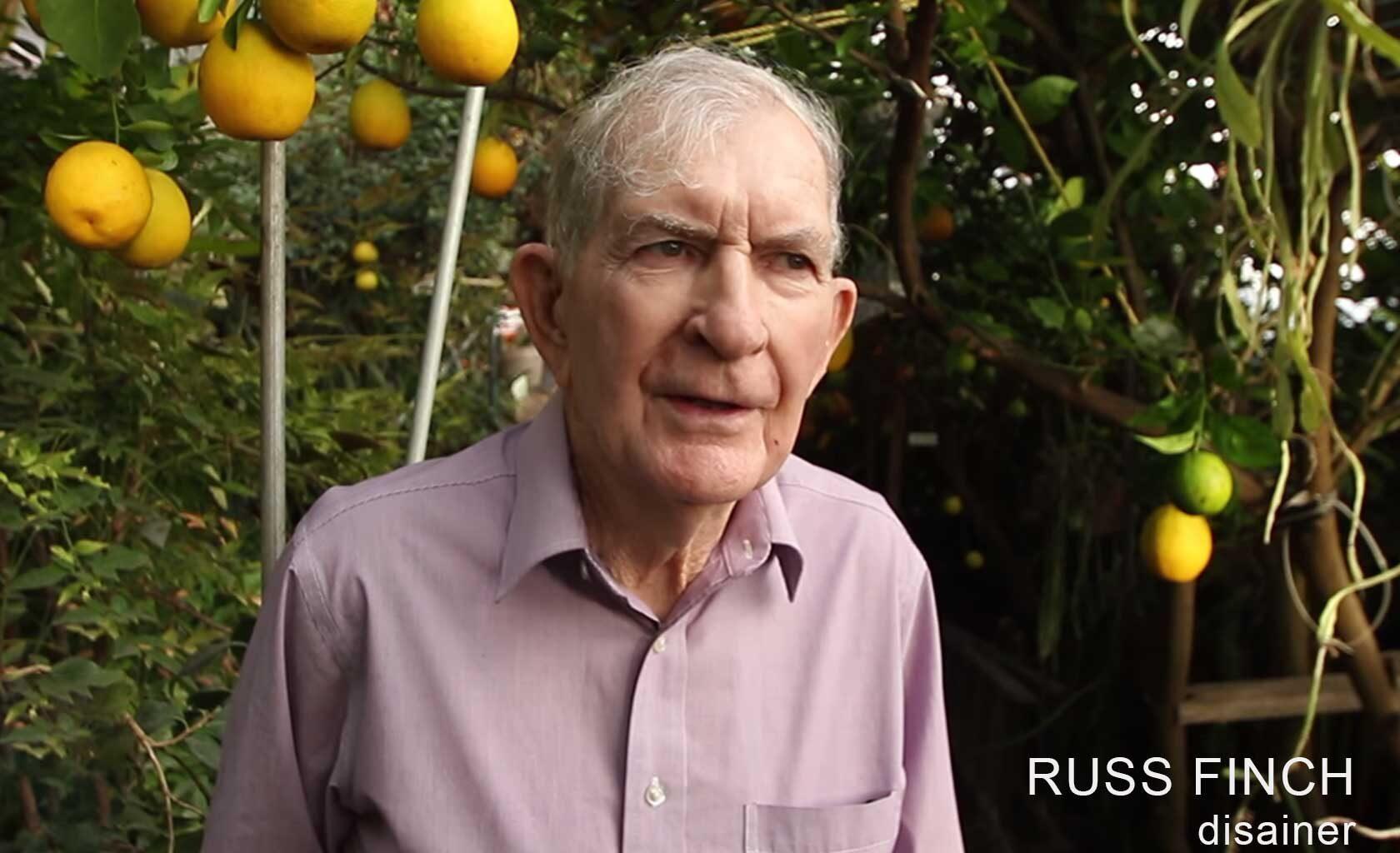 Russ Finch - kasvuhoone disainer